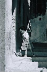 2011 - Scène de Rue - Bruno Hlavaty - Balayeuse - 1er Prix