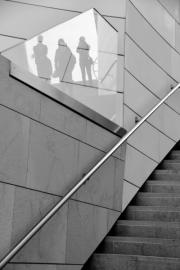 2017 - Architecture- Accessit - Tiffany Quinot - L'escalier aux reflets