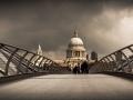 2017 - Couleur Libre - 4eme Prix - Olivier Moulin - Millenium Bridge Londres