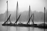 Fête de Loire, Bateaux dans la brume