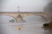 Orléans, Pont Royal dans la brume