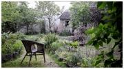 FRANCE-Bayeux-Jardin Benedictines